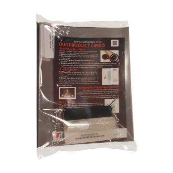 rear projection film samples packaged with mini app kit