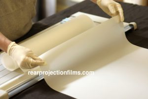 Rear Projection Film Shipping and Packaging