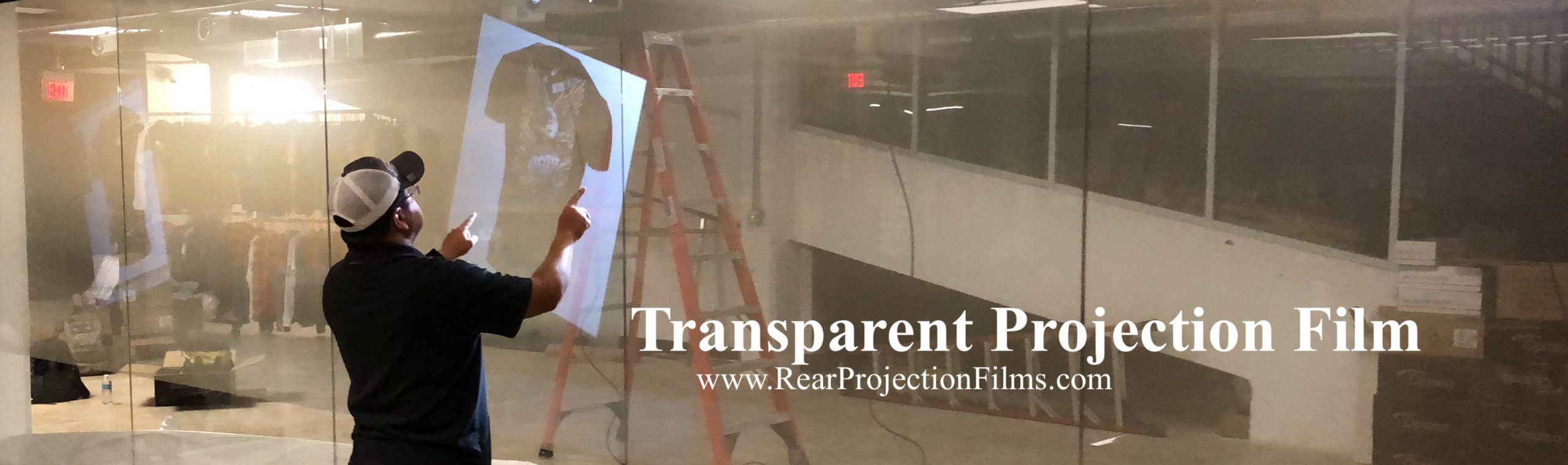 Transparent Projection Film