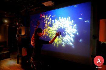 indoor accent film touch display