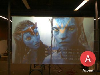 indoor accent film project