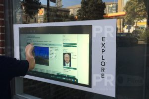 Anti Glare Film - Real Estate Touch Screen Dehind Glass