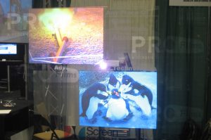 rear projection film definition film multiple display