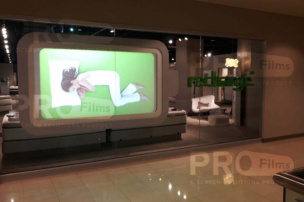 Definition Rear Projection Film