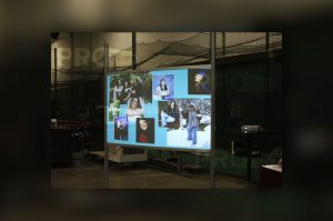 definition pro rear projection film display