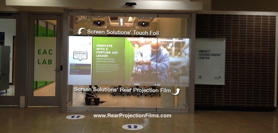 Rear Projection Film University